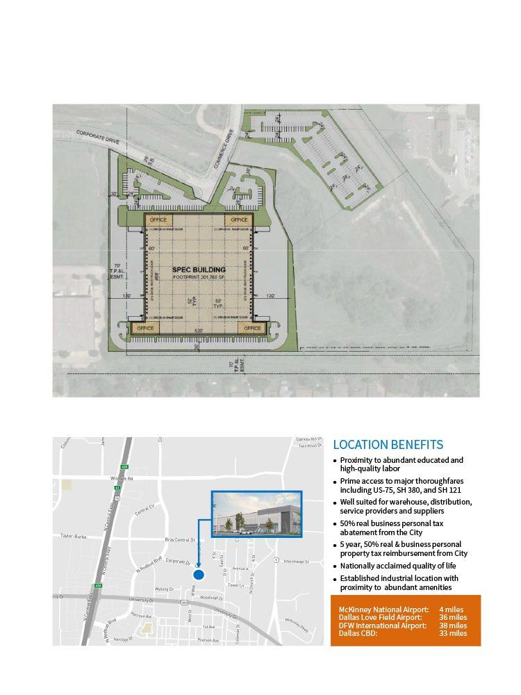 State-of-the-art 75/380 @ McKinney building - McKinney, TX