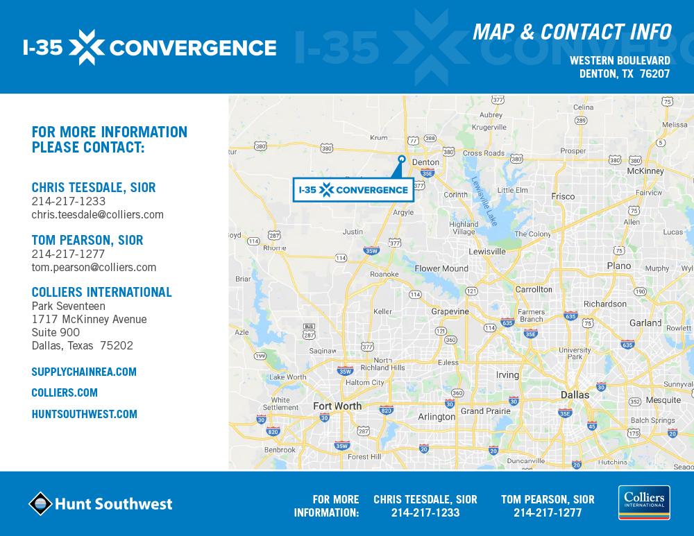 I-35 Convergence @ Denton | Western Boulevard in Denton, TX - 250,080 SF AVAILABLE